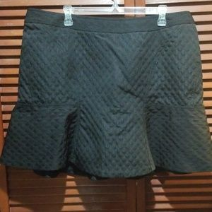 Black Circle Jacquard Skirt  ❤🎀